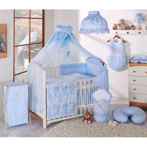 Linge de lit pour bebe parure de lit 6 ps ciel de lit tour - Housse de couette bebe 80x120 ...
