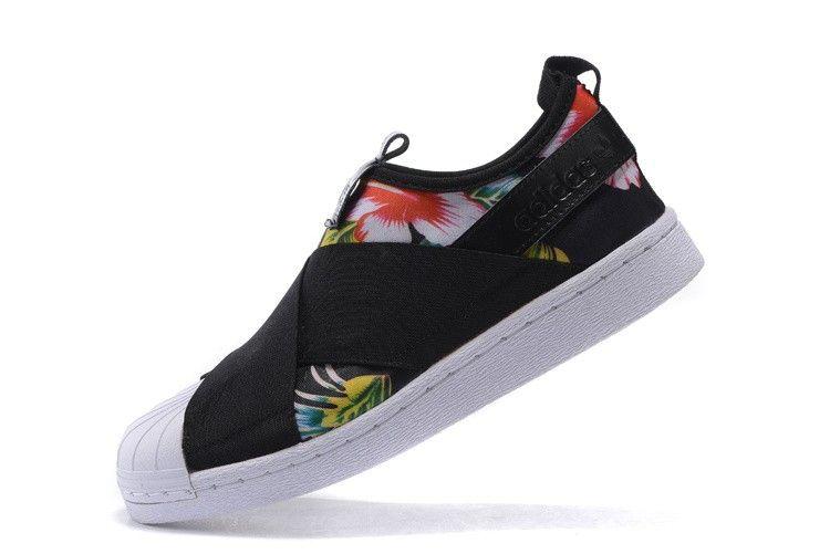 Adidas Originals Superstar Slip On Damen BlumenGemütlich