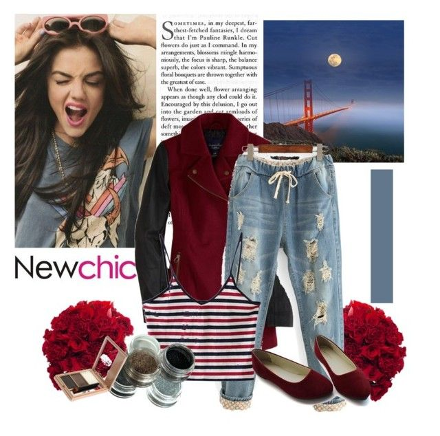"""""""#newchic"""" by norse-goddess ❤ liked on Polyvore featuring American Eagle Outfitters, chic, New and newchic"""