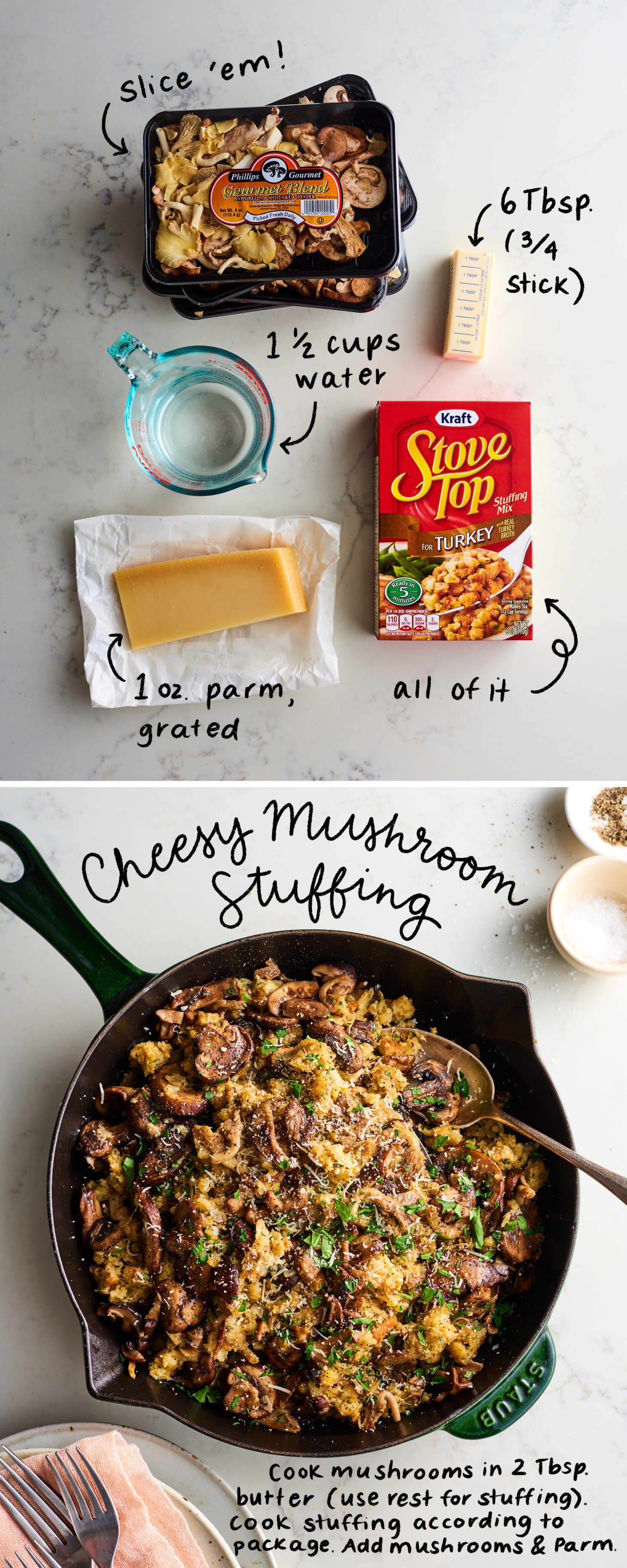The Easiest 2 Ingre Nt Boxed Stuffing Upgrades For