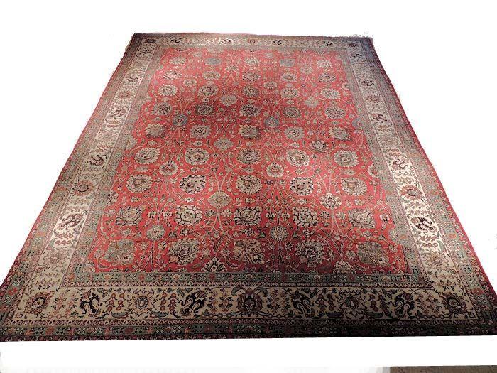 Semi Antique Oriental Rug Tabriz Semi Antique Tabriz 100 Wool With 100 Vegetable Dyes Antique Oriental Rugs Oriental Rug Oriental Rug Cleaning