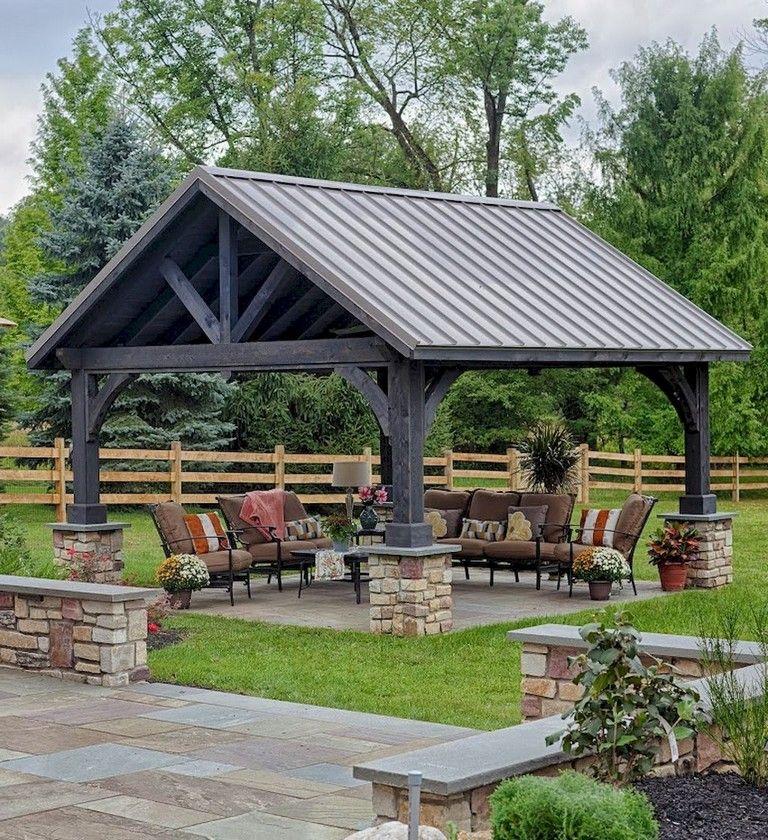 67 Nice Gazebo Backyard Garden Landscaping Design Ideas