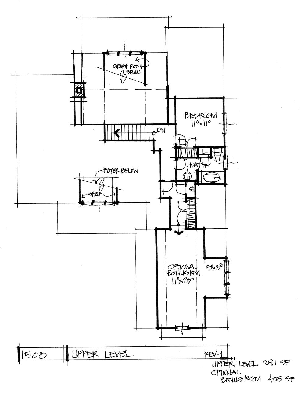 Conceptual Home Plan 1508 Family Friendly Craftsman House Plans New House Plans Residential House