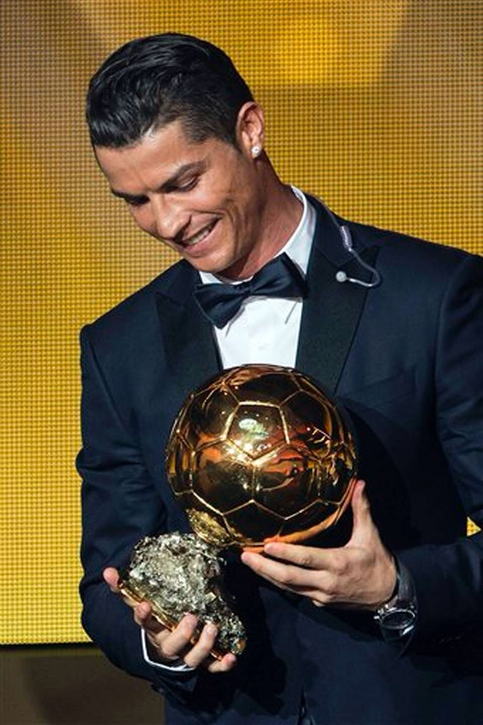 Cristiano ronaldo balon duor winner cr pinterest