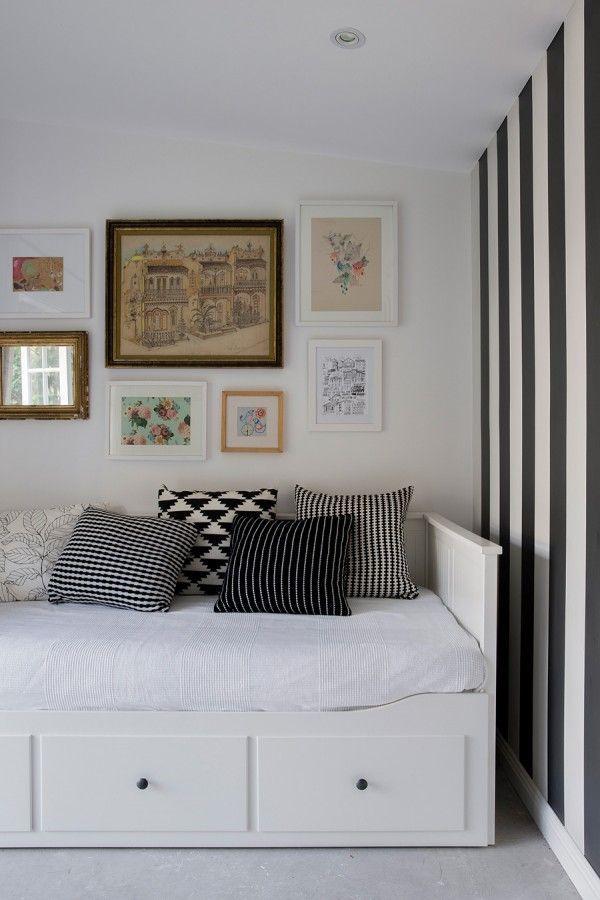 Ikea hemnes kid s room pinterest hemnes guest room for Bedroom divan