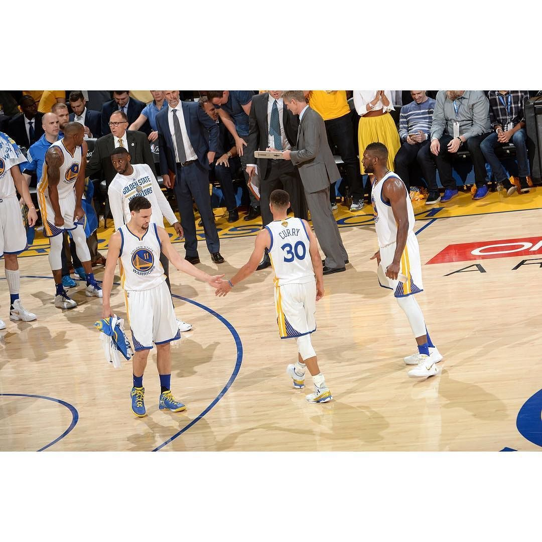 The Warriors stomped the Cavs tonight 104-89 and take a 1-0 series lead. Steph and Klay were not at their best tonight shooting a combined 8-27 but the bench came through with a combined 45 points. Teams that win Game 1 of the NBA Finals go onto win the series 71% of the time. #Gam30ver #stephcurry #Dubnation #nbafinals #back2back