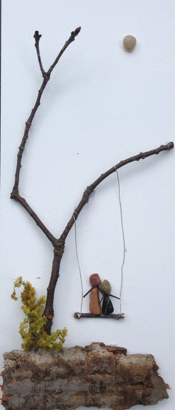 Complicated Yet So Simple Twig Art To Tantalize You - Bored Art