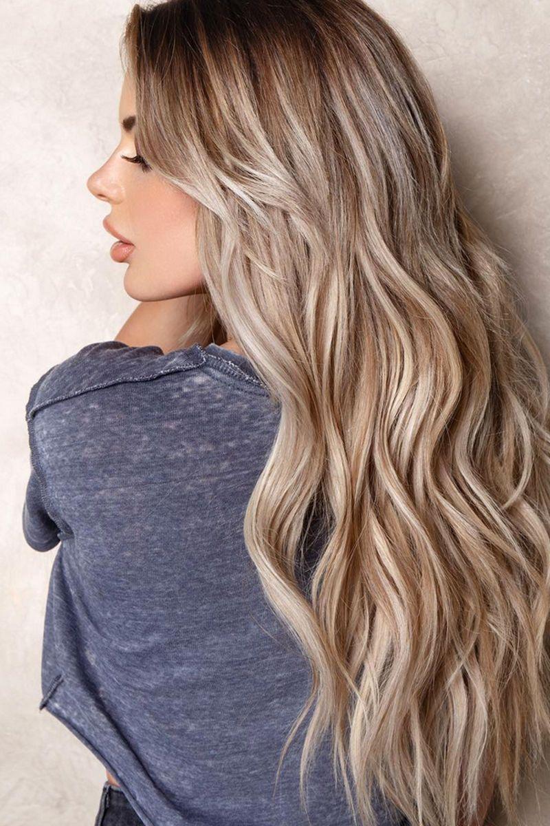 Dirty Blonde: Alles über den neuen Haarfarbentrend #blondeombre