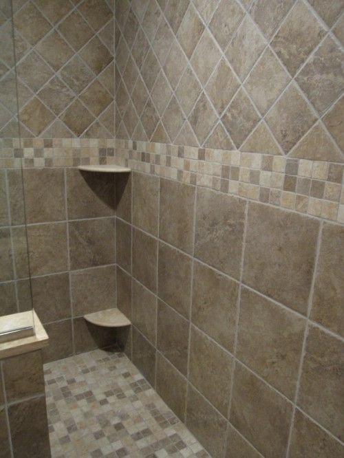 Shower Tile Designs For Bathrooms Inspiration 1For Our Master Bath Shower Which Is Not As Big As