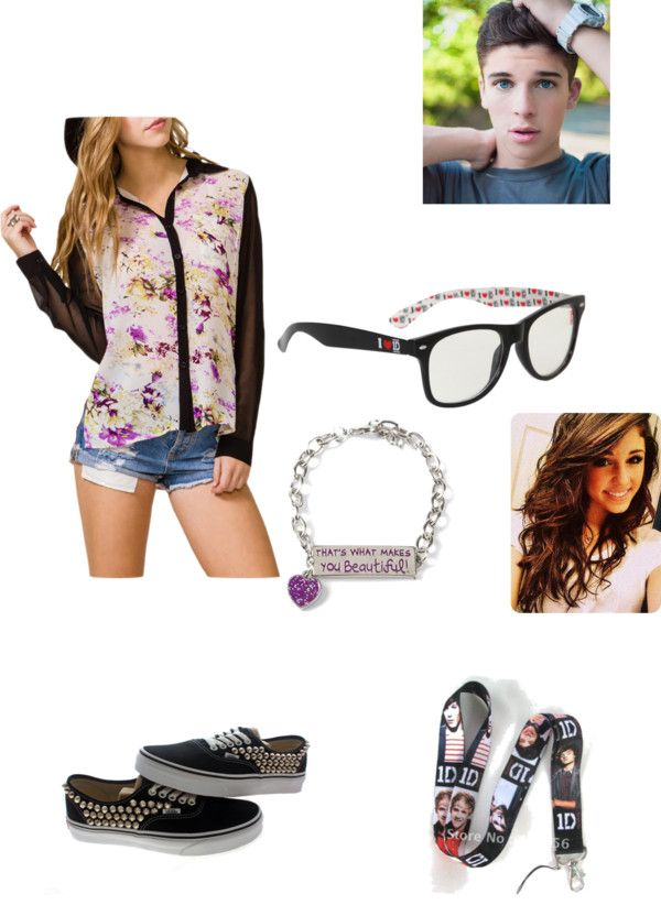 """""""goin on a date!)"""" by pinkroseace123 liked on Polyvore"""