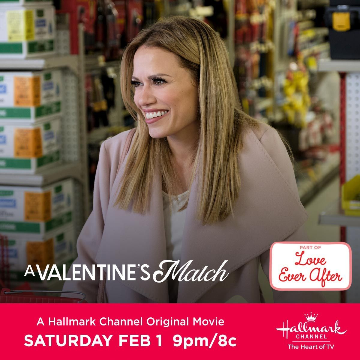Can You Get Hallmark Channel On Hulu Bethany Joy Lenz Stars In A Valentine S Match Her Fifth Hallmarkchannel Original Movie Make A Date On February In 2020 Hallmark Hallmark Channel Bethany Joy Lenz