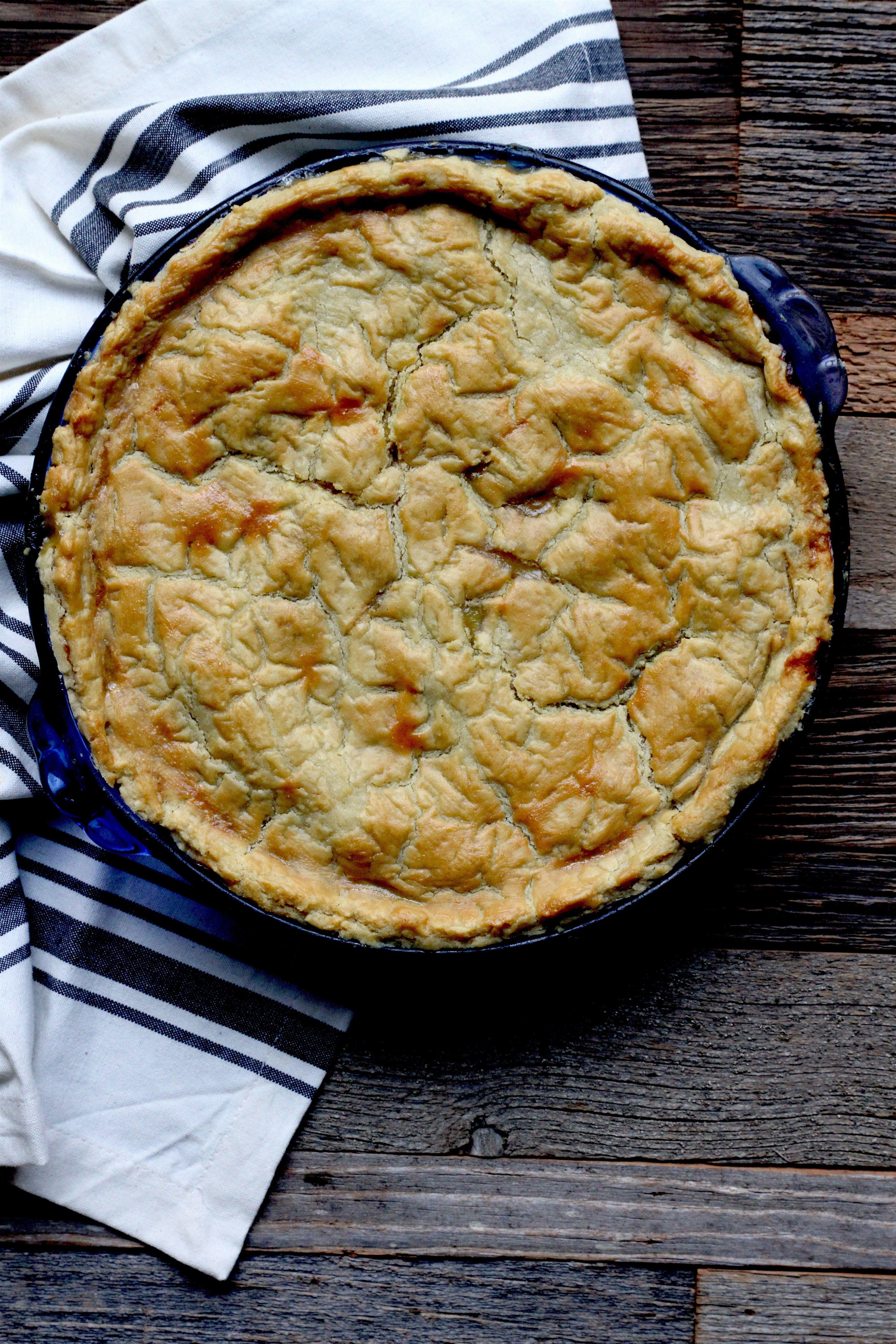 Turkey Pot Pie (grainfree, nutfree, dairyfree) Recipe