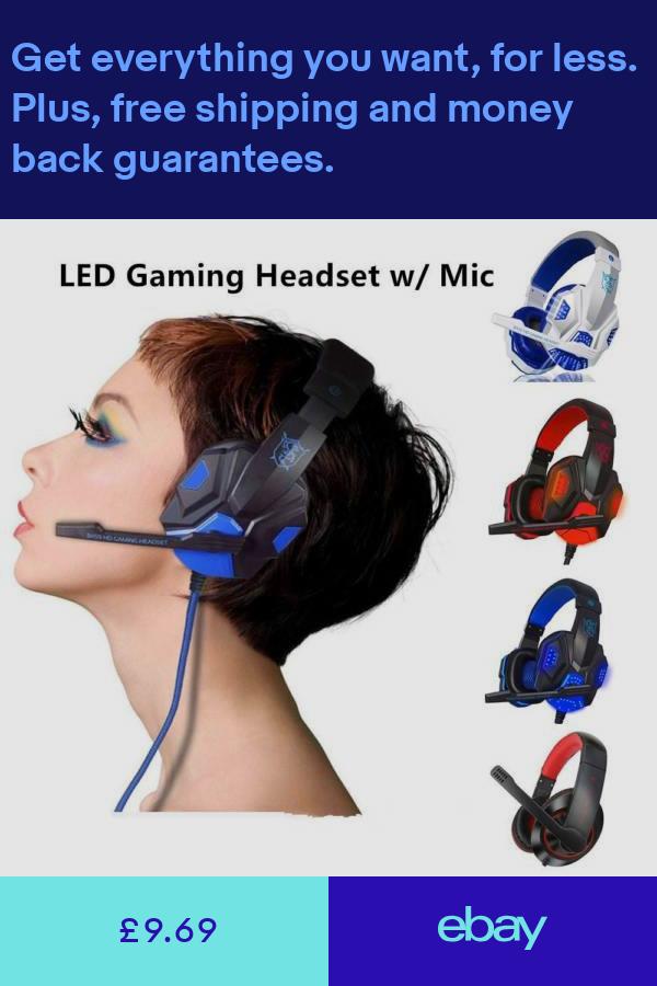 Headphones Sound & Vision ebay Headphone with mic