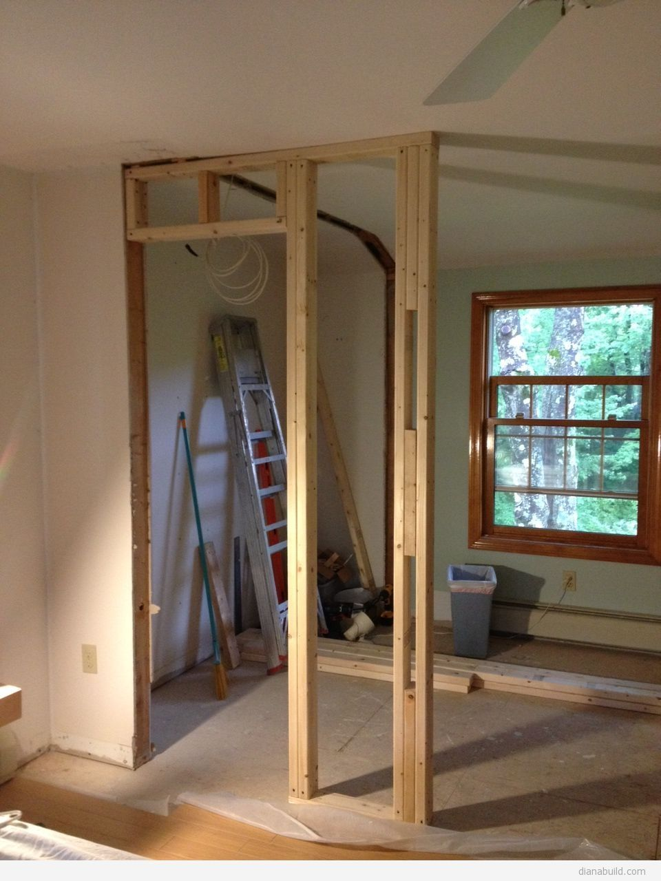 Framing A Closet Door Header