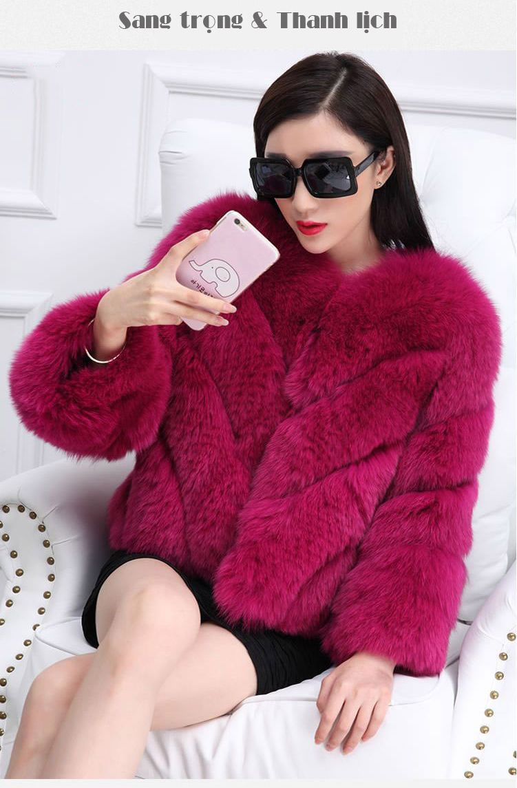 Những Kiểu áo Khoác Lông Hàn Quốc đẹp Cho Nàng Sành điệu áo Khoác