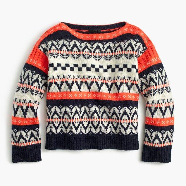 J Crew :: Fair Isle sweater