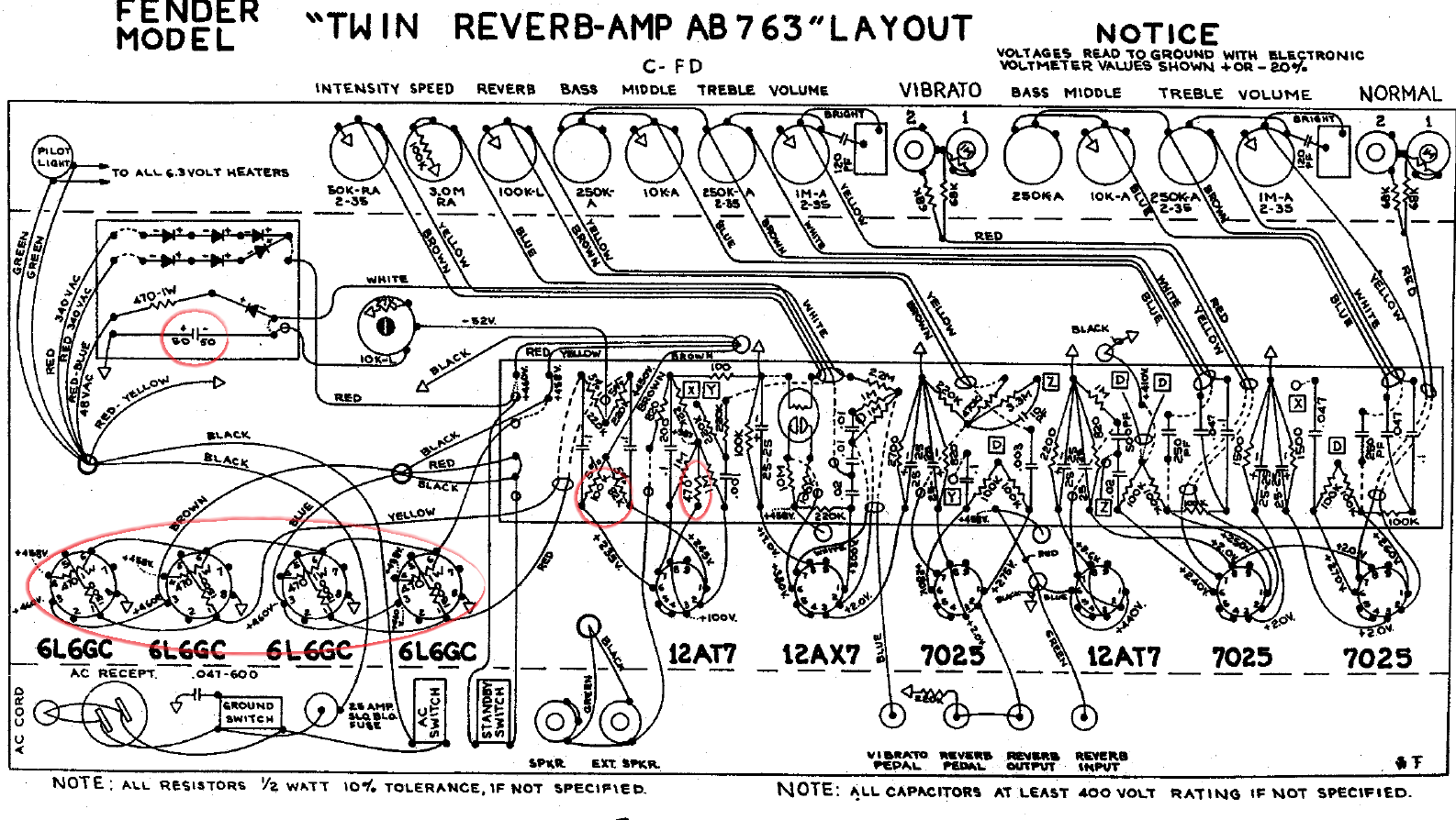 Twinreverb Ab763 Ac568 Layout With Images