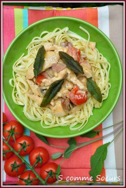 Saute De Dinde Alla Romana Recettes De Cuisine Recette Cuisine Italienne Brochette De Dinde