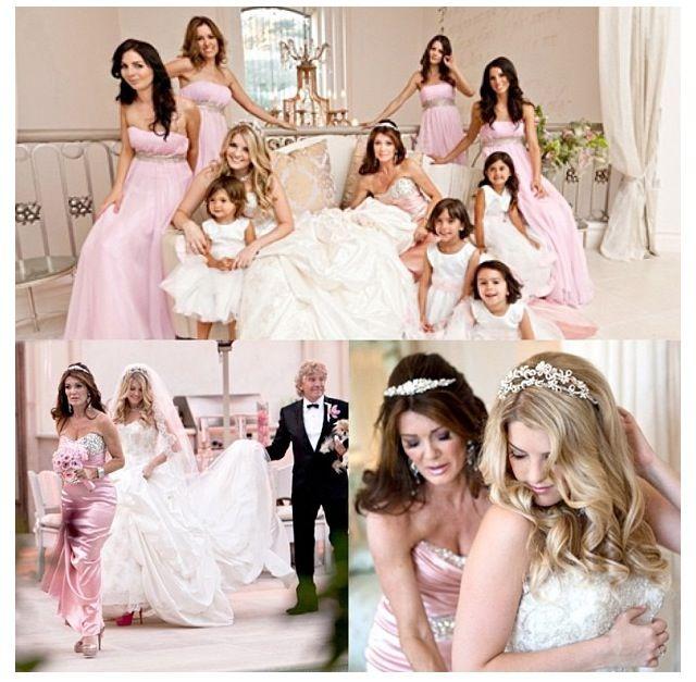 Beverly Hills Housewives Celebrity Wedding Dresses Lisa Vanderpump Style Vanderpump Style