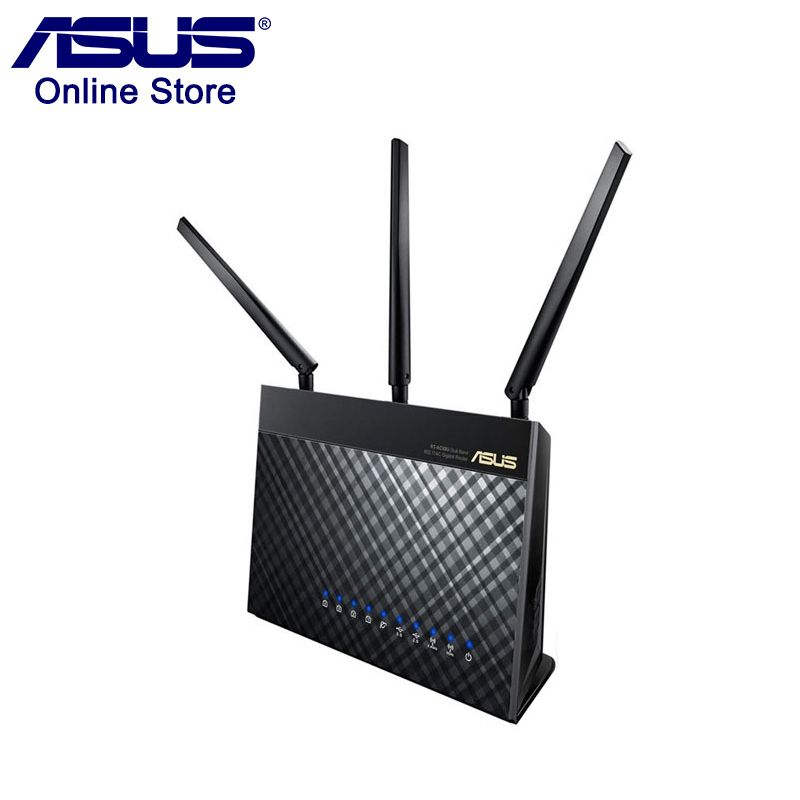Original ASUS RT-AC68U AC1900 Wireless Router 1300Mbps + 600Mbps