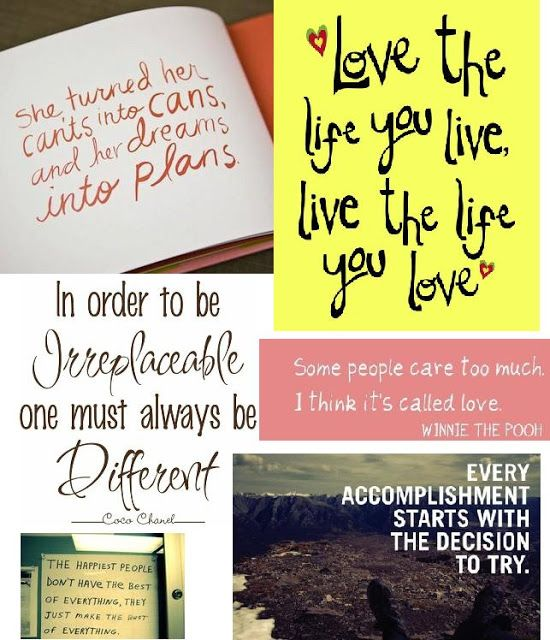 PrettyLittleInspirations Quotes Say it with words ❤ Pinterest