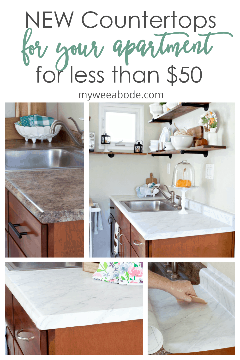 Update Your Countertops Without Replacing Them In 2020 Cheap Countertops Diy Kitchen Countertops Kitchen Countertops