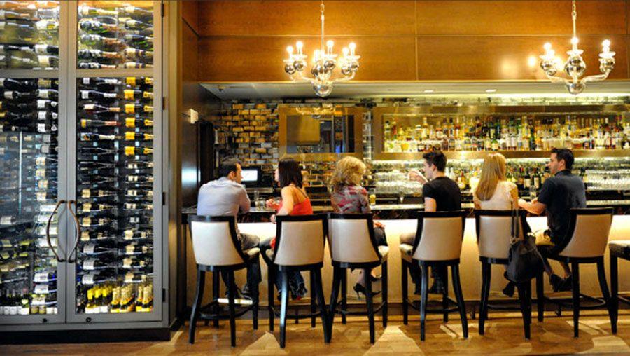 Modern American Upscale Restaurant Interior Design Nios Bar