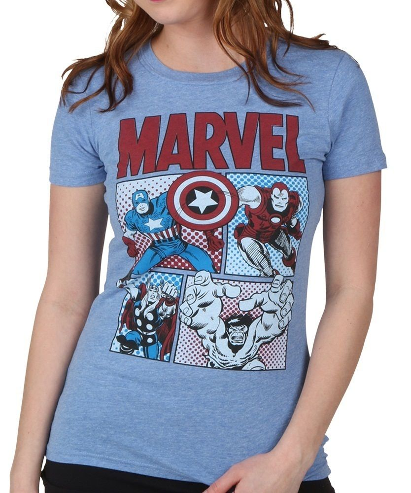 79c1f6161b7e3 women s marvel shirts - Google Search
