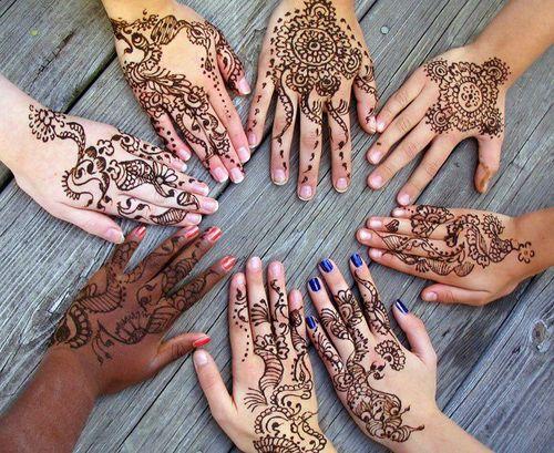 Henna Tattoo Montreal : Oriental touch ༺glam de india༻ hennas tattoo