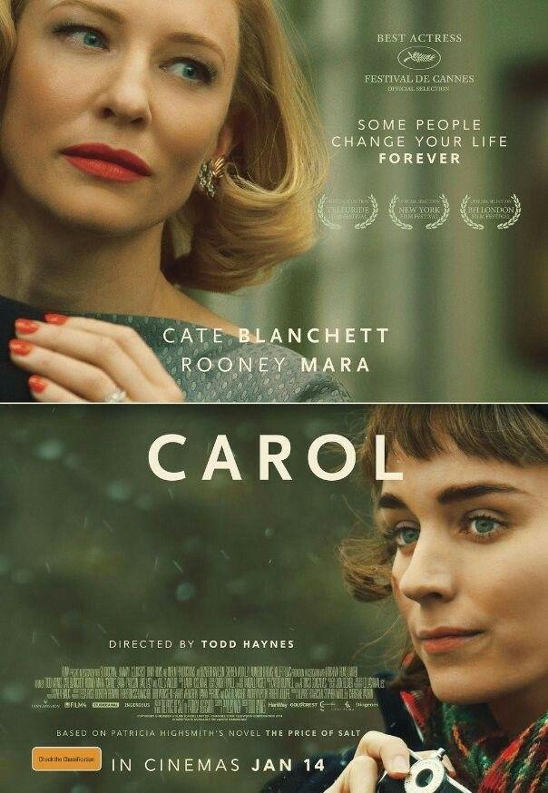 Pin Von Lucifer Auf Carol Movie Film Tipp Cate Blanchett Filme