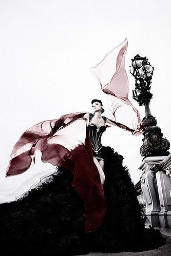 ♂ Fashion photography darkly decadent and extravagant jaglady
