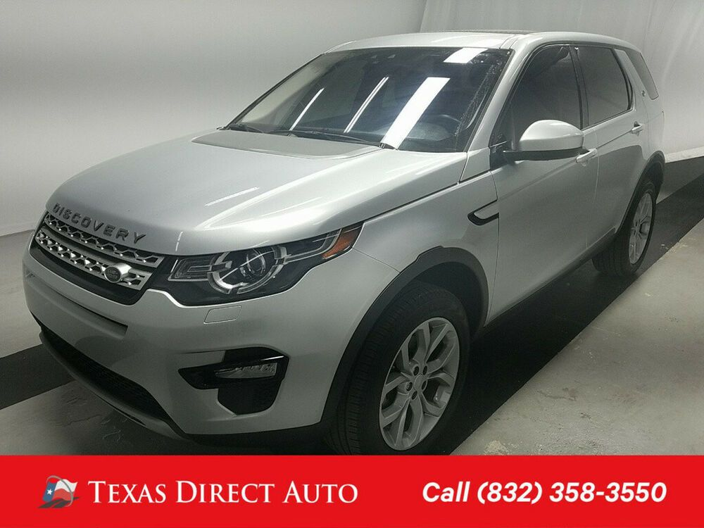 For Sale 2017 Land Rover Discovery Sport HSE Texas Direct