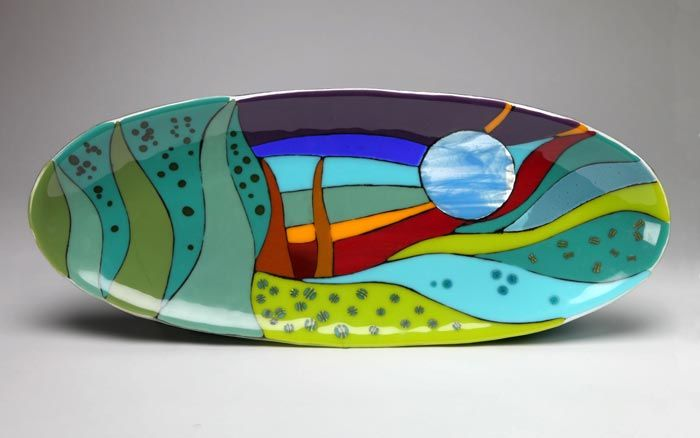 Luckydog Arts and Design: Fused Glass