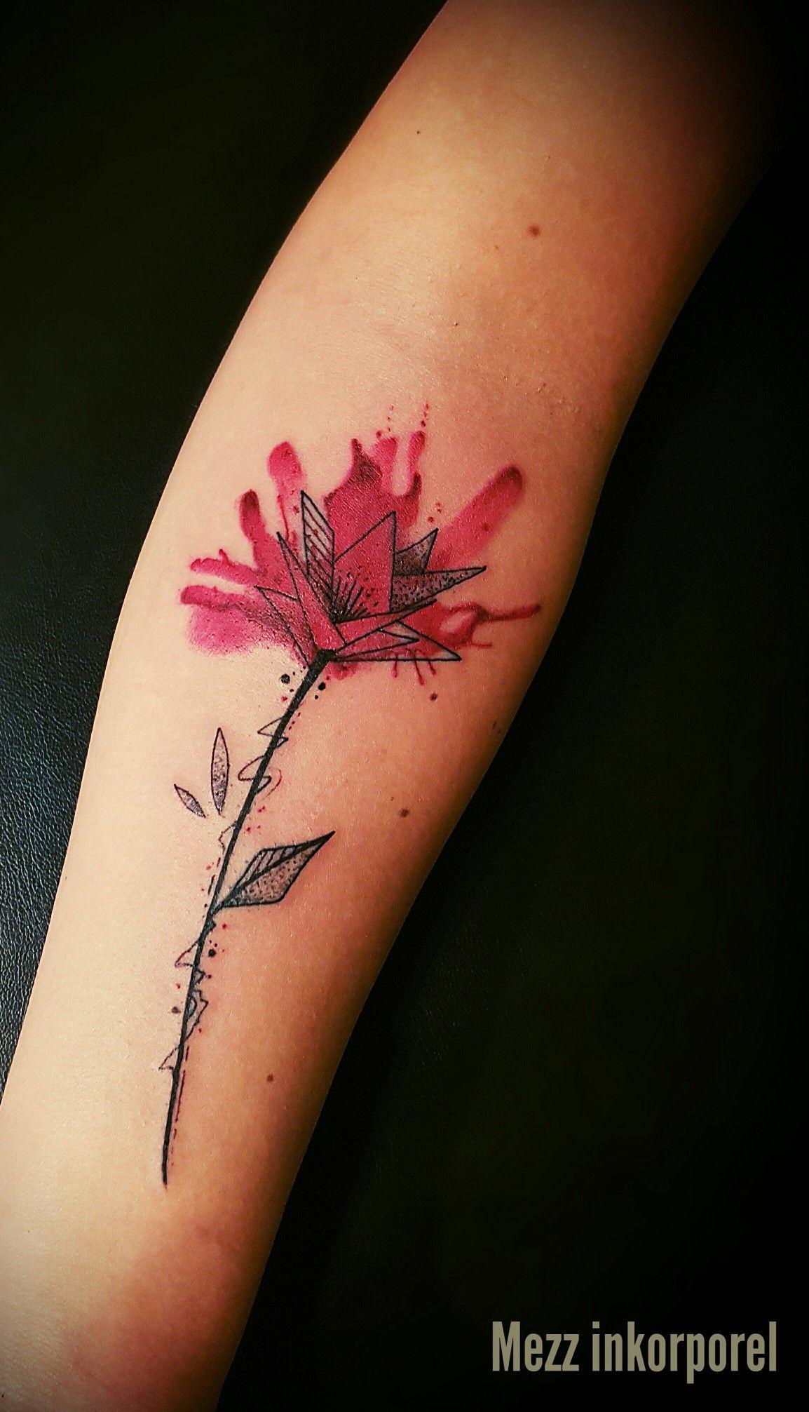 mezz inkorporel miramas tatouage tattoo ornemental fleur black noir mandala freehand. Black Bedroom Furniture Sets. Home Design Ideas