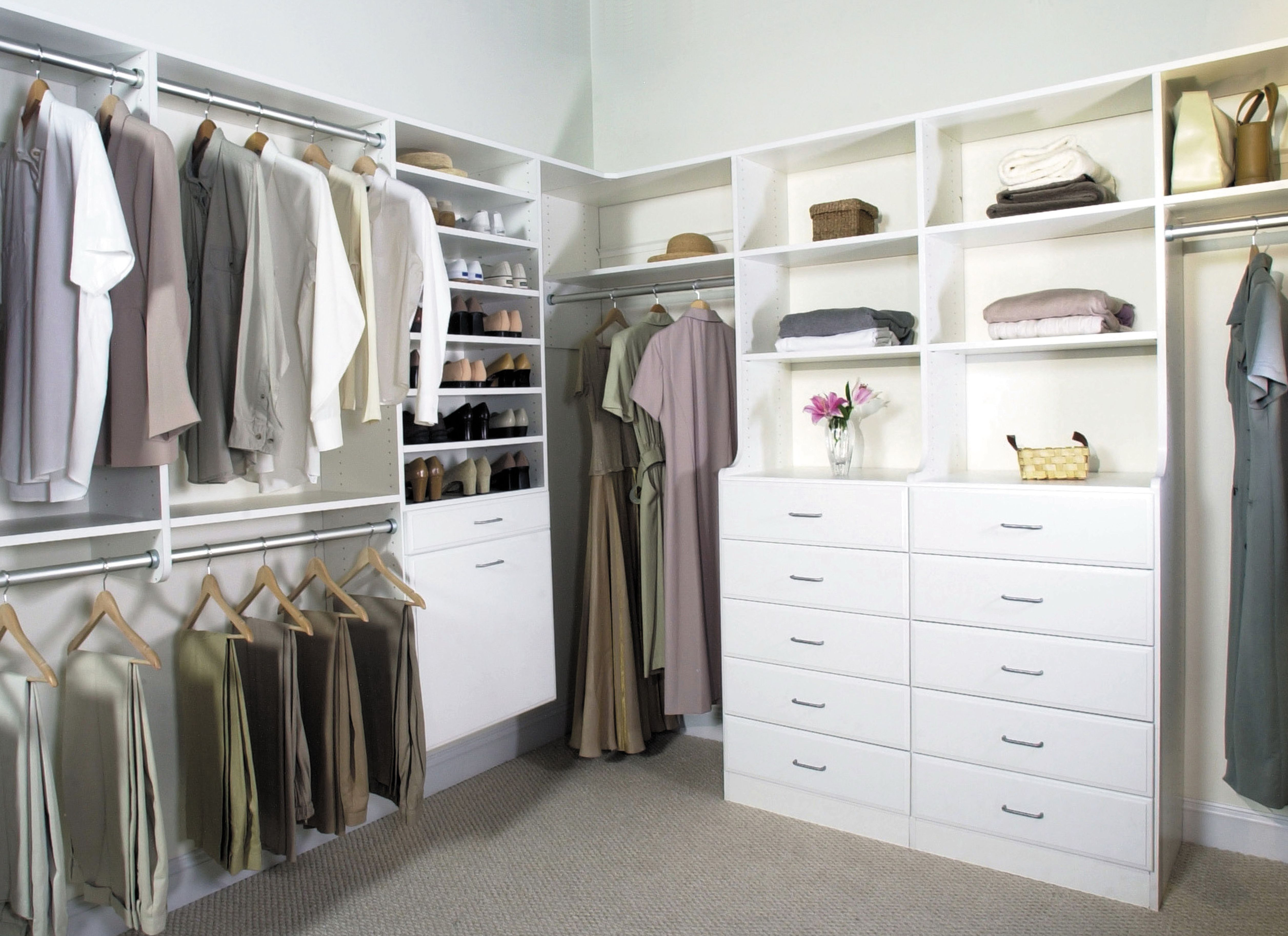 Do It Yourself Closet Systems Lowes Closet Storage Systems