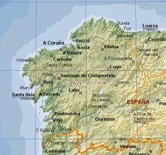 Mapa De Rias Bajas.Rias Bajas Altas Y Algo Mas Viajes En Autocaravana