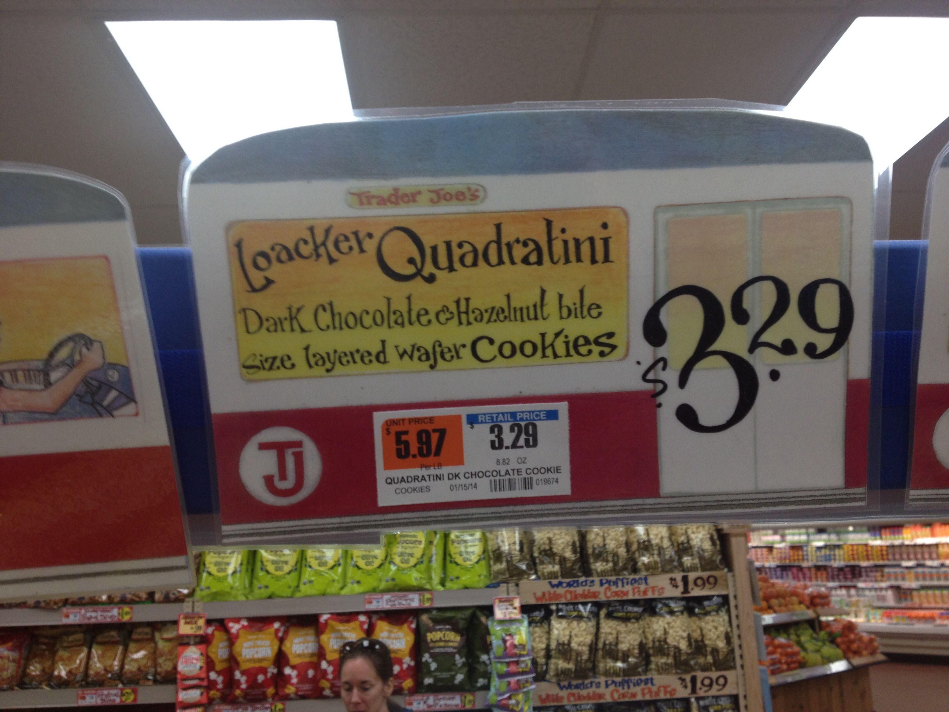 Grocery Store Shelf Signage