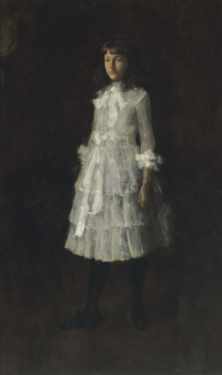 """Portrait of My Sister (Hattie), 1886, William Merritt Chase """