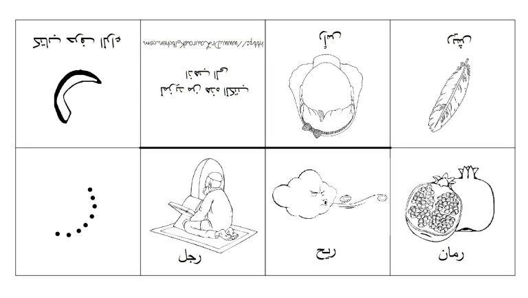 Free Printable Arabic Alphabet Books Alphabet Book Arabic Alphabet Arabic Alphabet For Kids