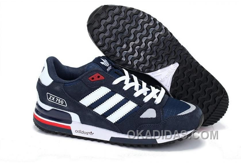 Buy Mens/Womens Adidas Originals ZX 750 Shoes Navy Blue/White Lastest from  Reliable Mens/Womens Adidas Originals ZX 750 Shoes Navy Blue/White Lastest  ...