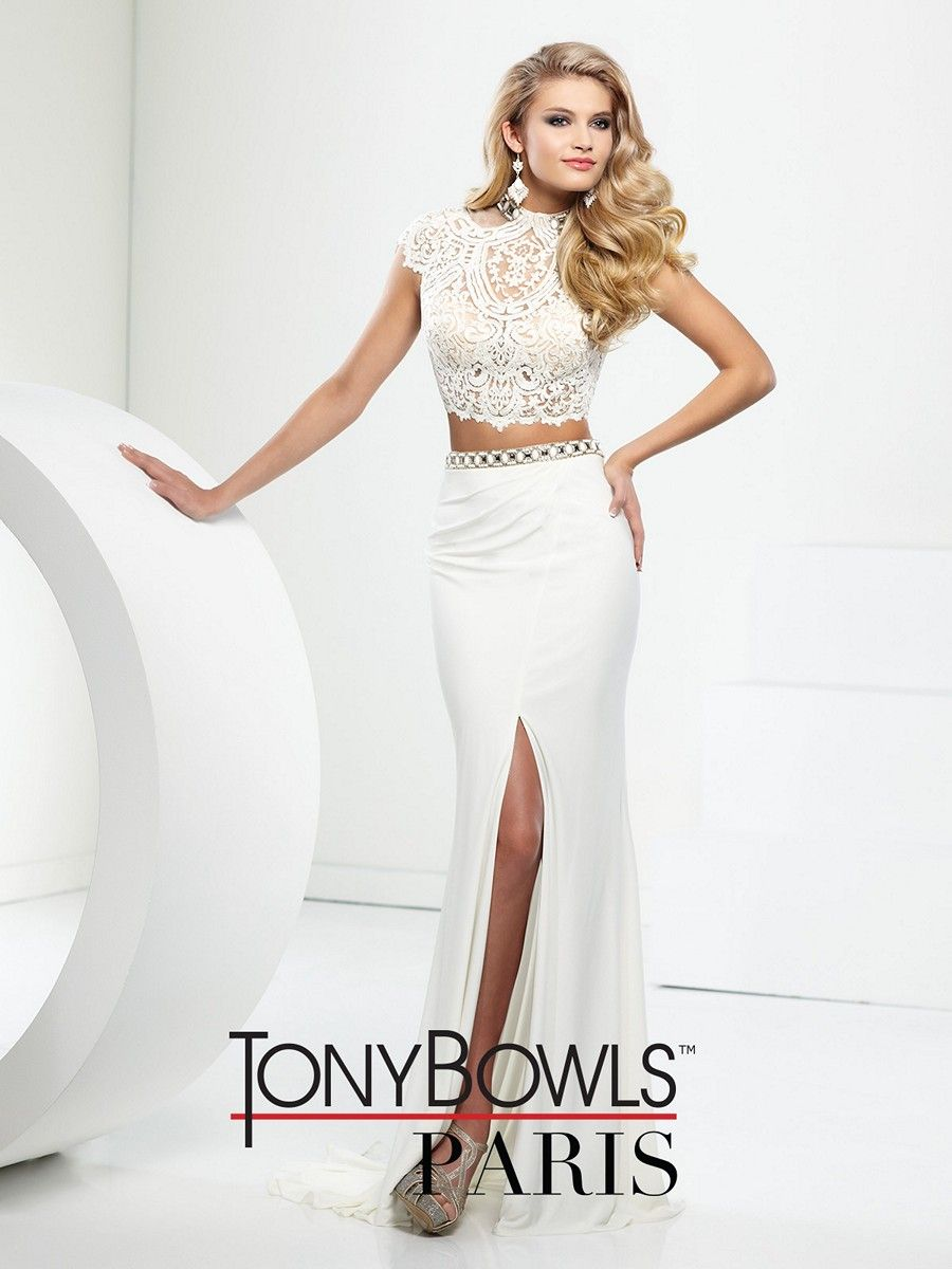2 Piece Prom Dresses Tony Bowls