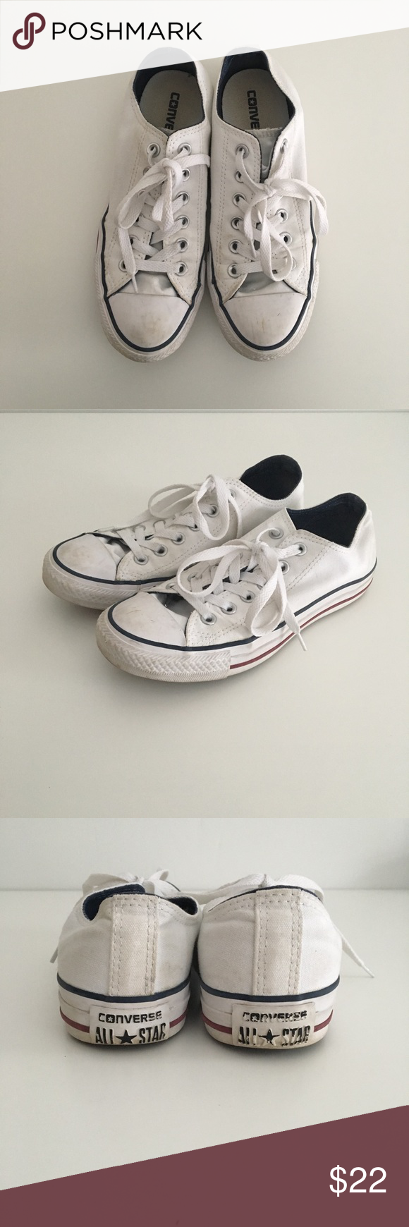 3e601ec4fe5 AllStar White Converse AllStar White Converse. These are fake ...