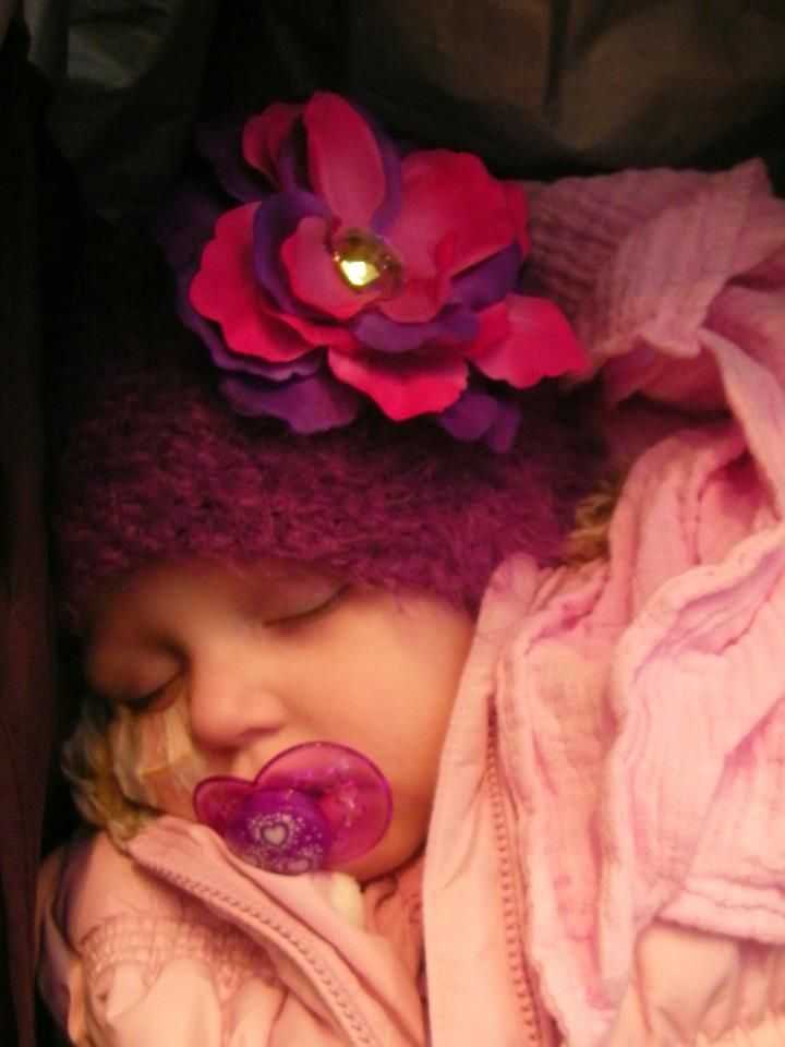sleeping sweetly... Sadie Rose from UK