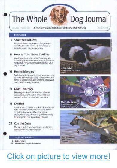 Whole Dog Journal (1-year auto-renewal) #Whole #Dog #Journal #1_year #auto_renewal