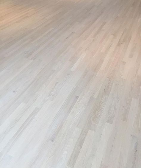 Our Red Oak Install With 1 Coat Of Nordic Seal Followed By