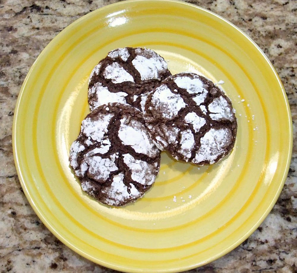 4 Ingredient Chocolate Cookies