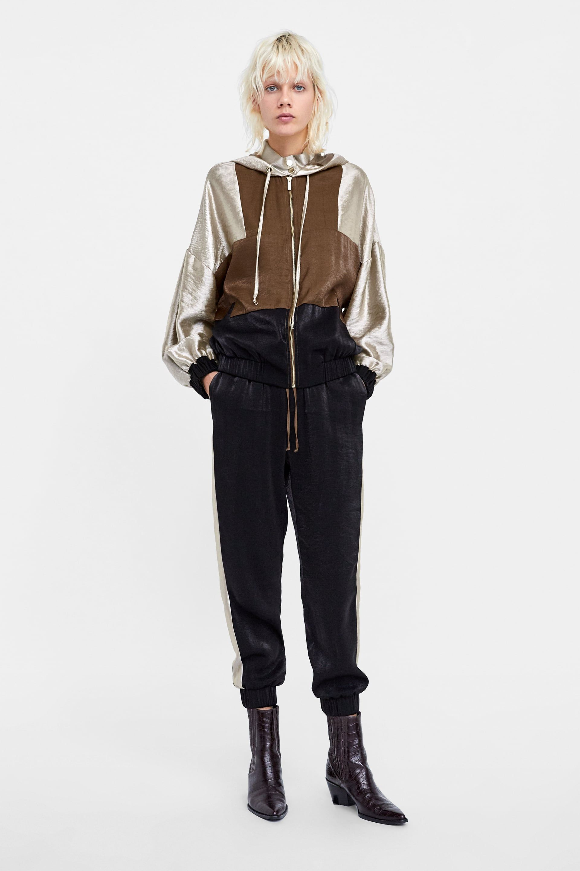 723ba95f Image 1 of COLOR BLOCK JACKET from Zara | Style | Color blocking ...