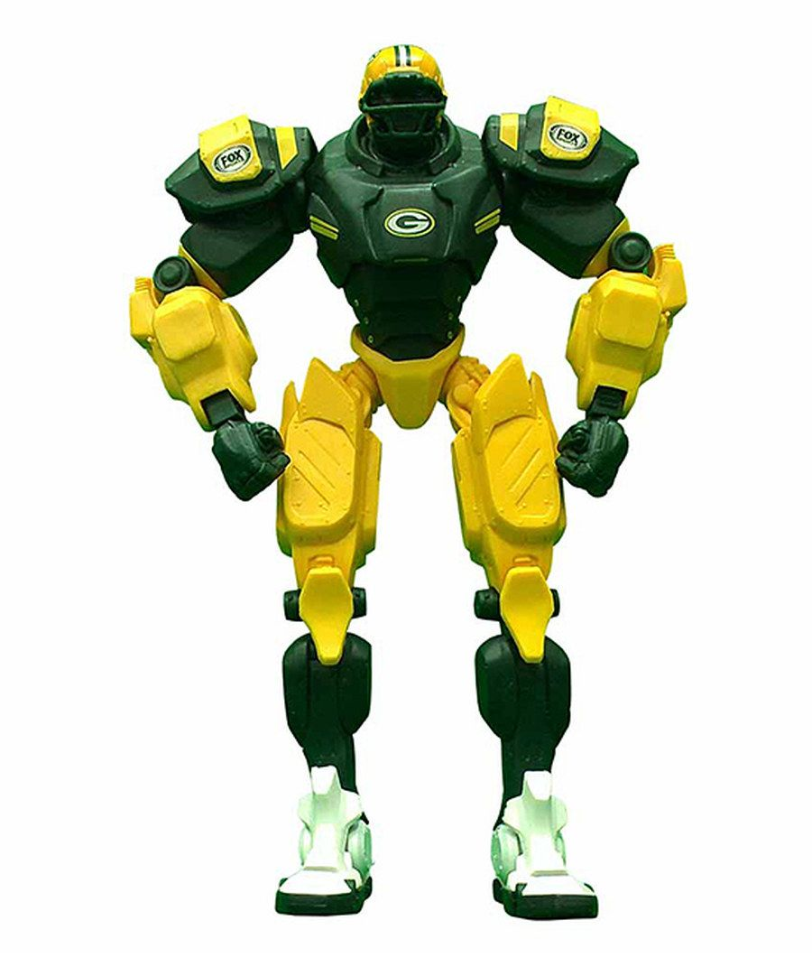 Look at this Green Bay Packers Cleatus FOX Robot Action Figure on #zulily today!