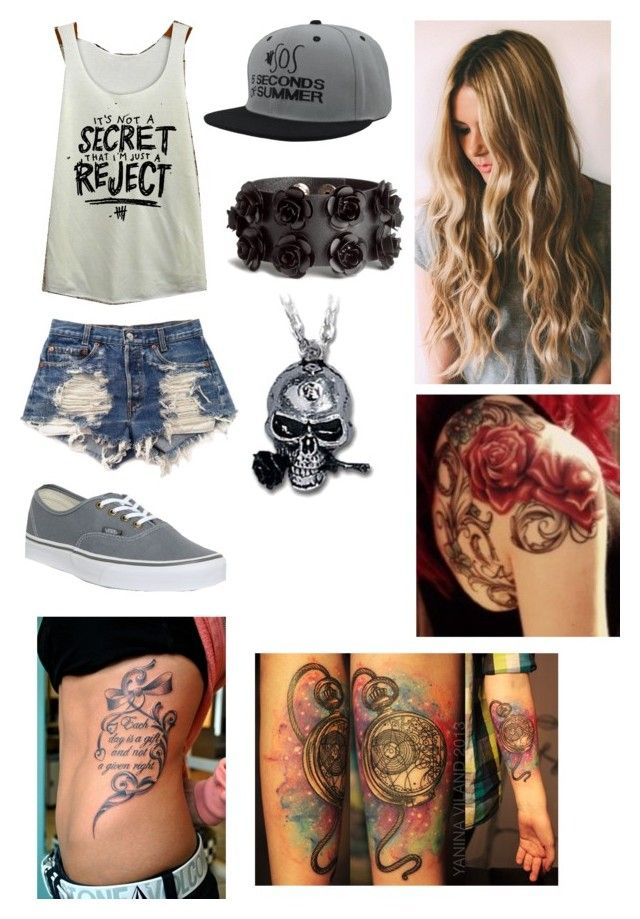 Concert by foreversandalways on Polyvore featuring polyvore, fashion, style, Levi's, Vans and H&M