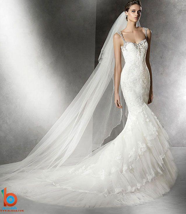 بالصور احدث فساتين للزفاف والعروس